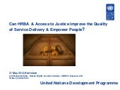 Can HRBA & Access to Justice Improv...