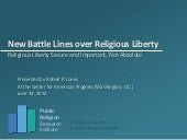 New Battle Lines Over Religious Lib...