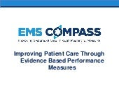 Developement of EMS Performance Measures