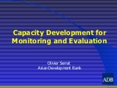 Capacity Development For Monitoring...