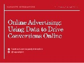 Online Advertising: Using Data to Drive Conversions for National Art Marketing Conference