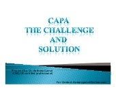 Capa The Challenge And Solution