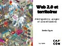 Web 2.0 et territoires - Interrogations, usages et concretisations