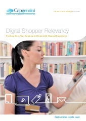 Digital Shopper Relevancy Study