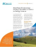 Smart Grid Operational Services Distributed Generation Fact Sheet