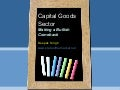 Capital goods sector