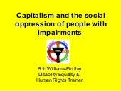 Capitalism and Impairments