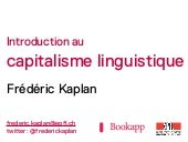 Introduction au capitalisme linguis...