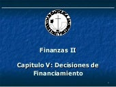 Capitulo V Decisiones De Financiami...