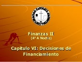 Capitulo Vi Decisiones De Financiam...