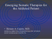 Emerging Somatic Therapies for the ...