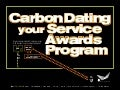 Carbon Dating Your Service Awards Program
