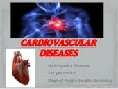 Cardiovascular diseases & Dental Management