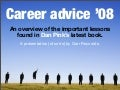 Career Advice '08