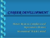 Career  Development( Bridging  Gap)
