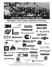 Fall 2012 Career Fair Guidebook