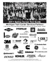 Spring Career Fair 2011 Guidebook