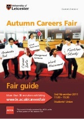 Autumn Careers Fair 2011 Guide
