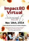 Carenovate magazine-2014-fall-impact80-virtual-summit-program-book (1)