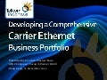 Developing a Comprehensive Carrier Ethernet Business Portfolio