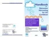 Caribbean Rainwater Harvesting Manual
