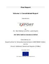 CaribExport – Report Opportunities ...