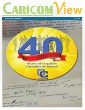 CARICOM View:     40 years of integ...