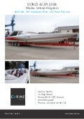 DONZI 43 ZR, 2008, £235,000 For Sale Flyer. Presented By carineyachts.com