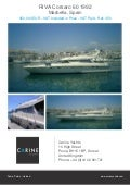 RIVA Corsaro 60, 1992, 450.000 € For Sale Flyer. Presented By carineyachts.com