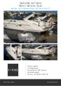 SEALINE S37, 2002, £90,000 For Sale Flyer. Presented By carineyachts.com