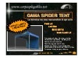 Carpas plegables spider