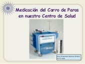 Carro paros. Medicación disponible