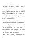 Carta de Maurício Rands