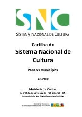 Cartilha do Sistema Nacional de Cul...