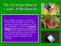Cartridge Network Membership Program Levels & Information Part 1