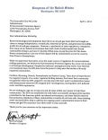 Letter from 8 Democrat Congressman to EPA Asking for New Investgation on Fracking