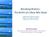 Breaking Waters: the birth of a new...