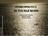 Nile Hydropolitics in the Nile Basi...