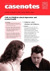 Casenote Depressions And Mental Health