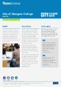 Seric case study city of glasgow college nseries