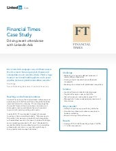 [Case Study] - LinkedIn Ads - Financial Times