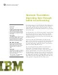 Case Study (MIS in Finance) -- Grameen Foundation (IBM)
