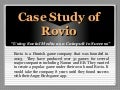 Case Study Of Rovio The Maker Of Angry Birds Flash Game