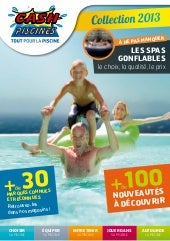 Cash piscines catalogue 2013 choisi...