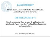Caso Di Open Innovation