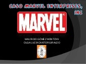 Caso marvel enterprises, inc