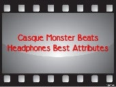 Casque monster beats headphones bes...