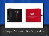 Casque Monster Beat's Speaker