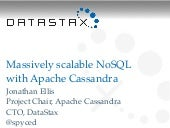 Massively Scalable NoSQL with Apach...