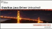 C* Summit 2013: Java and .NET Clien...